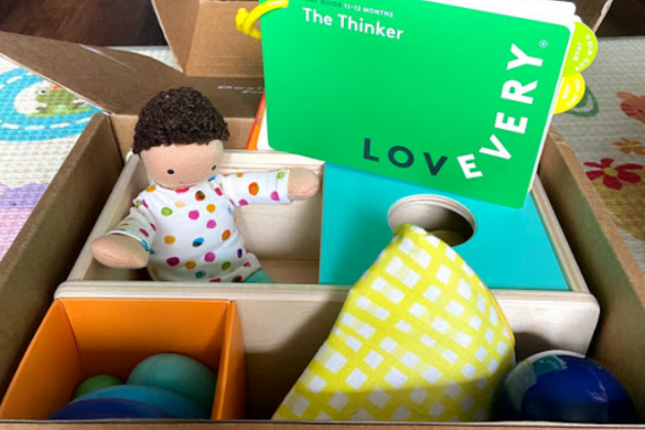 LOVEVERY The Thinker Box Review (11-12 month olds)